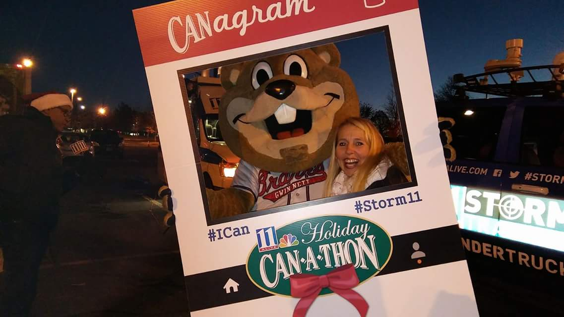 Diana at Can a Thon
