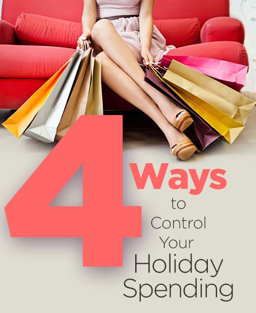 four ways control holiday spending