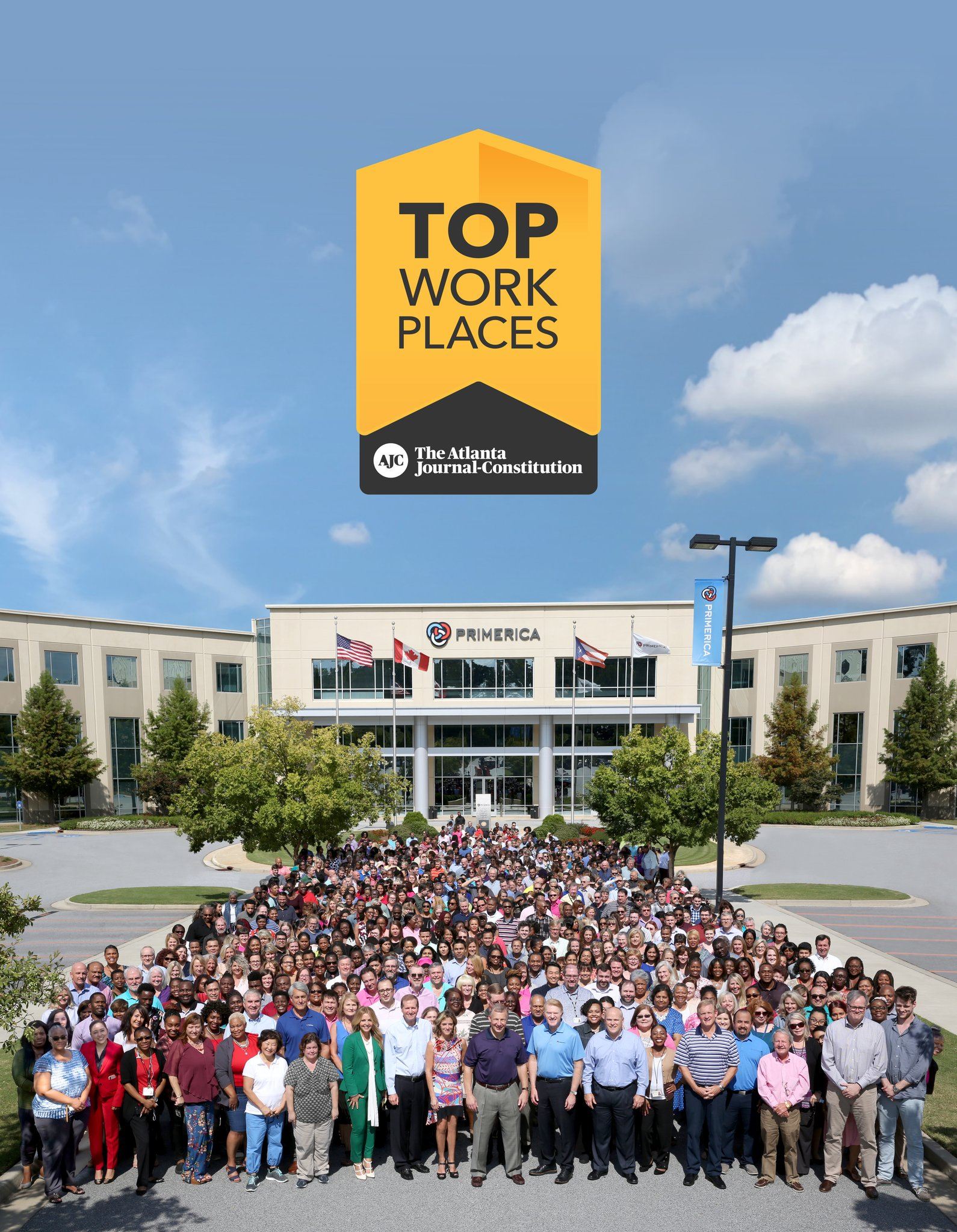 Primerica Named Top Workplace in AJC for 2019